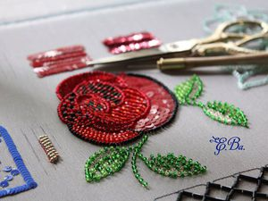 Экспресс-курс по люневильской вышивке | Ярмарка Мастеров - ручная работа, handmade