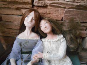Сестрички, фото из кукольной жизни. Ярмарка Мастеров - ручная работа, handmade.