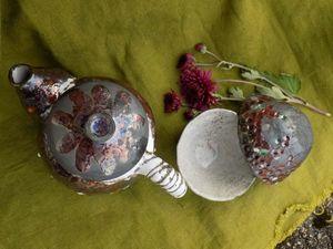 Аукцион на Чайный набор Раку. Ярмарка Мастеров - ручная работа, handmade.