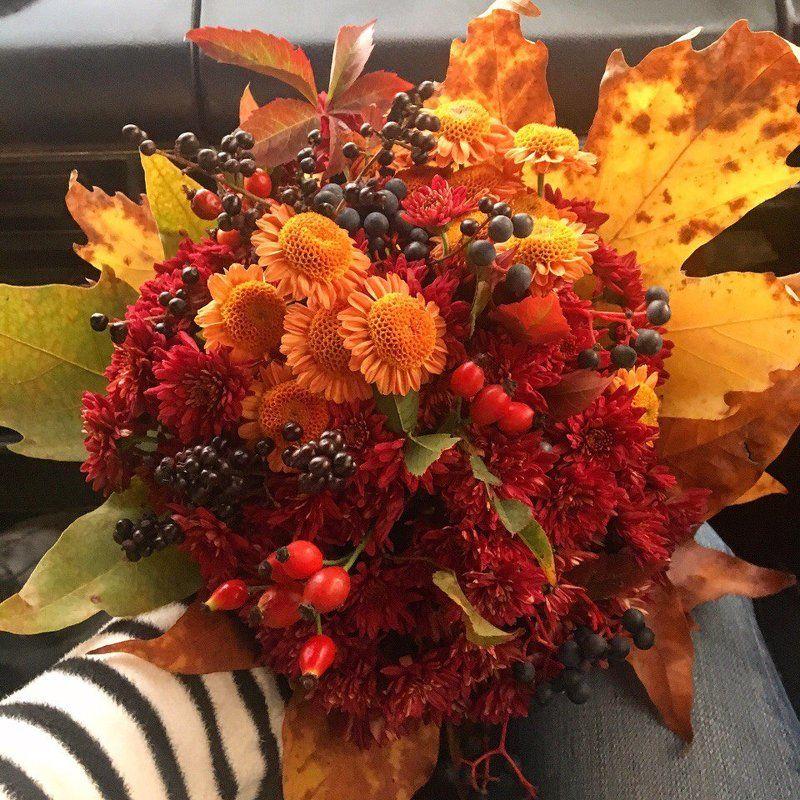 естественных потребностей осенние фото с цветами две ладошки