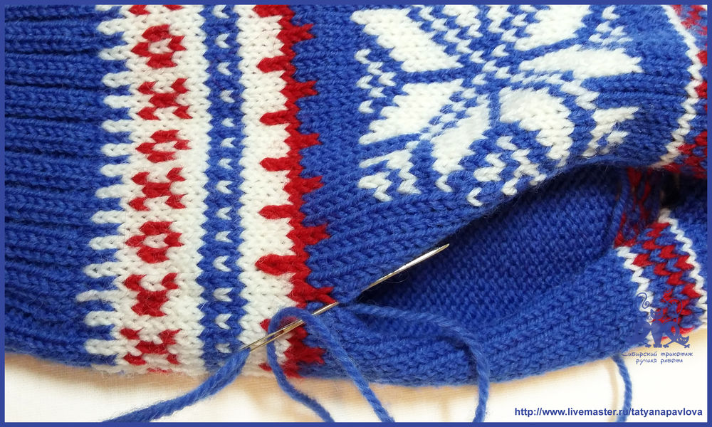 Машина для вязания варежек