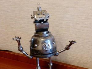Изготавливаем робота с планеты Шелезяка. Ярмарка Мастеров - ручная работа, handmade.