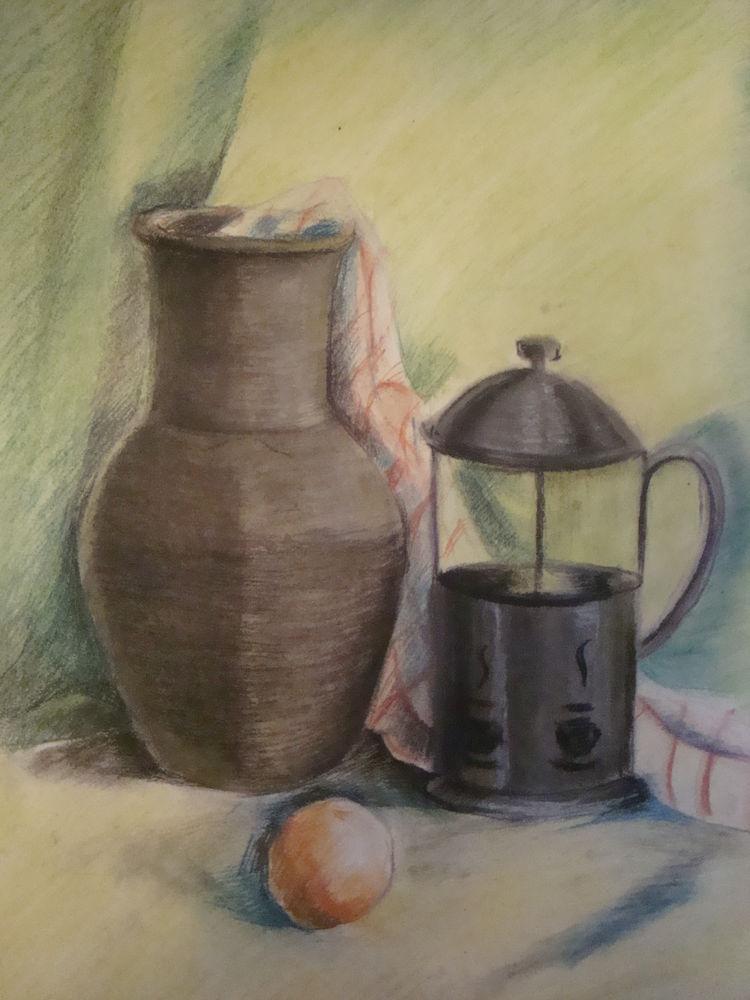 рисунок пастелью
