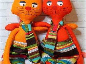 Красив, умён холёный рыжий кот. Ярмарка Мастеров - ручная работа, handmade.