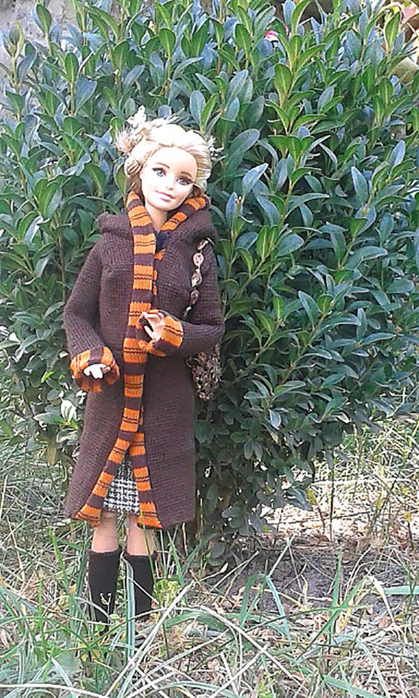 одежда для кукол, осенняя мода