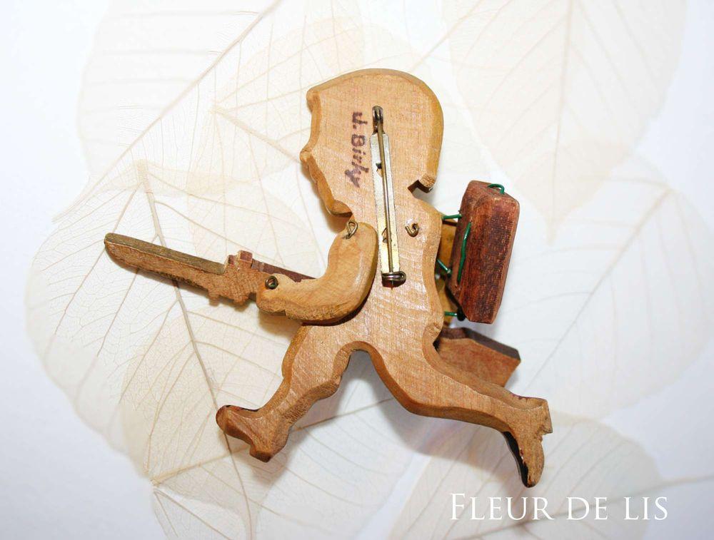 деревянная, подарок