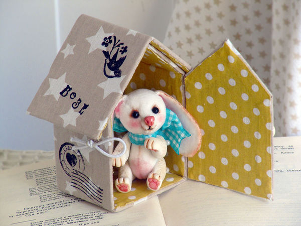 Малыши Тедди и их Домики!!! | Ярмарка Мастеров - ручная работа, handmade