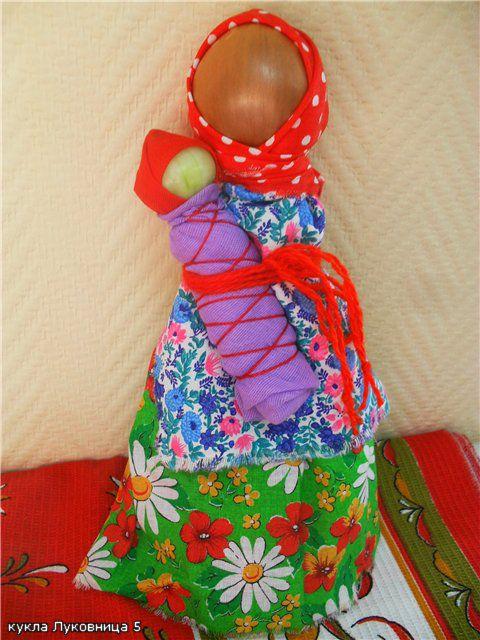 Как сделать из овощей куклу 766