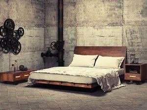 Кровать лофт двуспальная из магазина Мебель LoftCO - на Главной!. Ярмарка Мастеров - ручная работа, handmade.