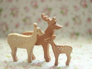 До 25 июля скидка 20% на семейку оленей!. Ярмарка Мастеров - ручная работа, handmade.