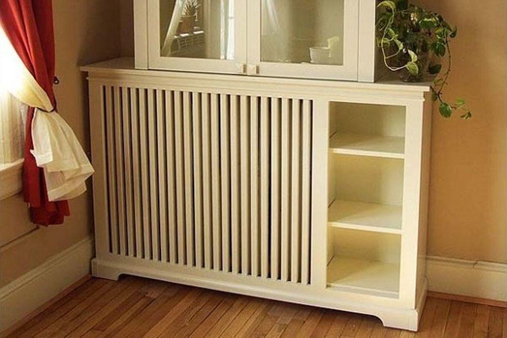 45 идей для декорирования батарей отопления, или Как «замаскировать» радиаторы отопления дома, чтобы не мозолили глаза, фото № 24