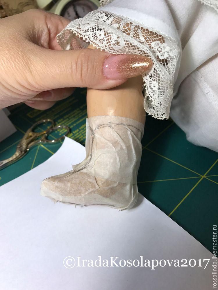 мк кукольной обуви