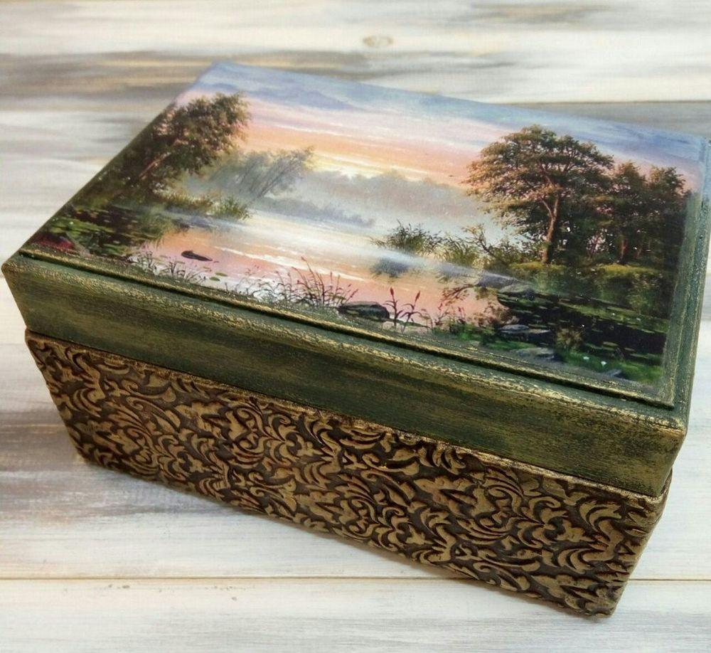 случайно телеку как преобразить старую деревянную шкатулку фото ассортимент