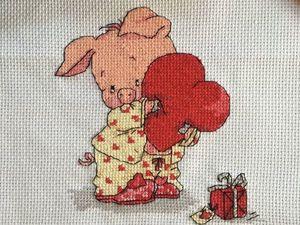 Отчет для Юлии Лоскутные витражи: вышивка крестом. Ярмарка Мастеров - ручная работа, handmade.