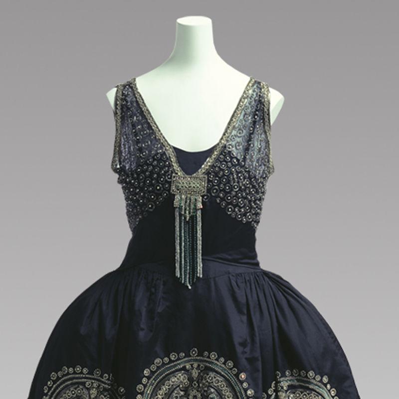 Вечернее платье от Жанны Ланван