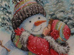 """Проект """"Поцелуй снеговика"""". Ярмарка Мастеров - ручная работа, handmade."""