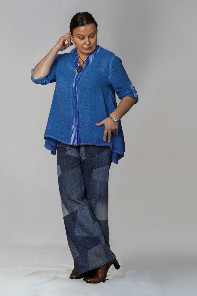 лоскутные джинсы, необычные джинсы
