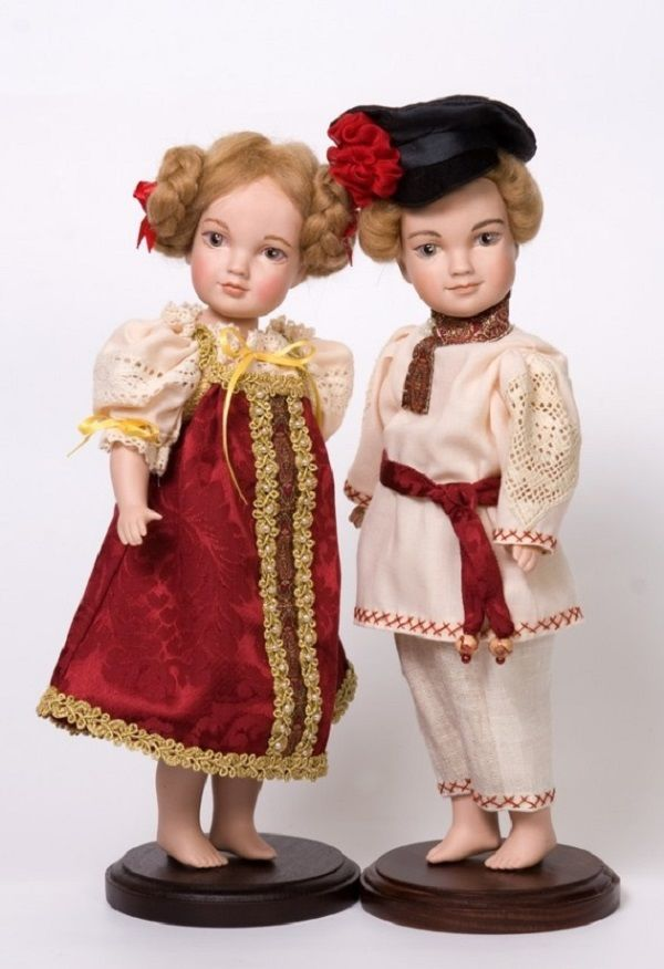Удивительные и прекрасные куклы Дмитрия Курганова