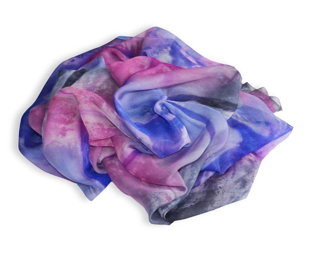 торги, торги батикомания, шёлковый шарф батик, шарф шелковый батик, батик платок