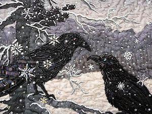 Зимние пейзажи в разных техниках. Идеи для вдохновения. Ярмарка Мастеров - ручная работа, handmade.