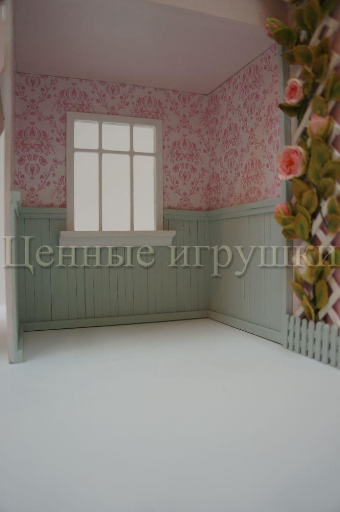 Мастер класс по сборке и оформлению кроватки домика., фото № 28