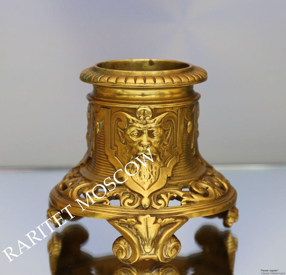 раритет, бронзовый стакан