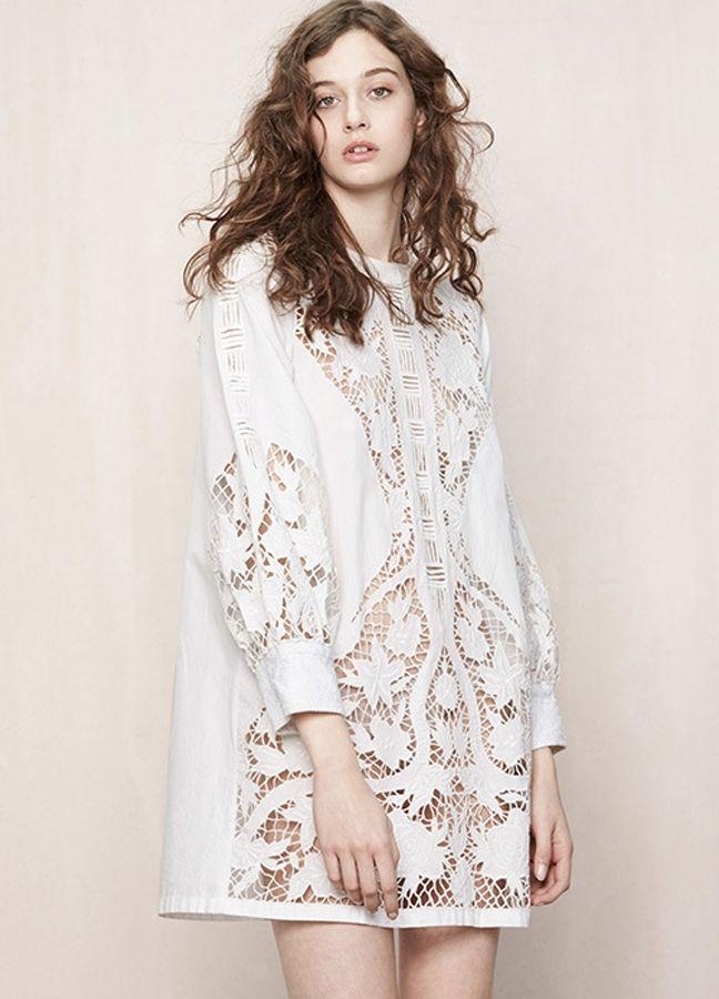 Белое бохо, или Шикарная одежда для королевы летнего пляжа, фото № 63