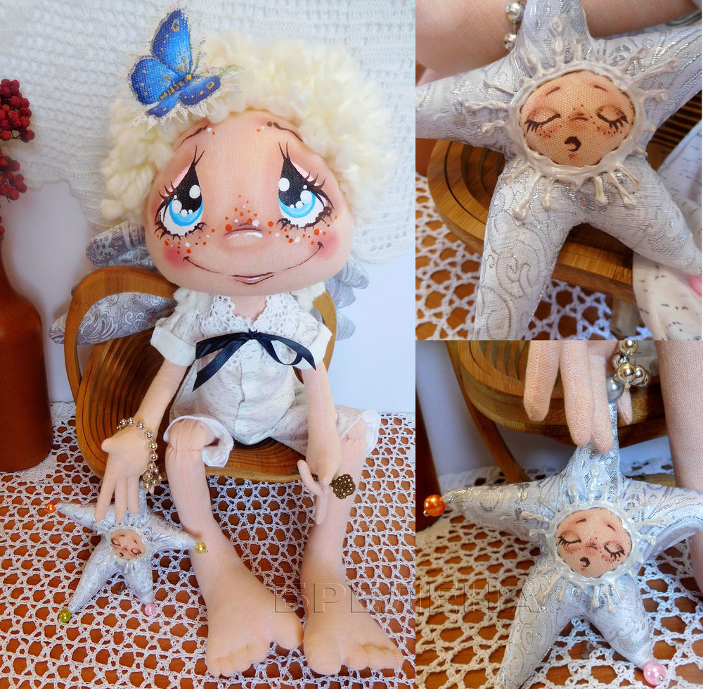 куклы брелены