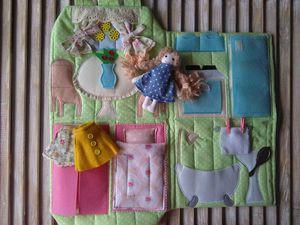 Новая цена на кукольный домик сумочку с куклой!   Ярмарка Мастеров - ручная работа, handmade