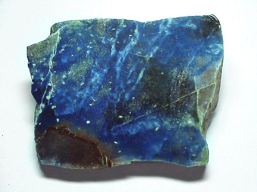 синяя яшма, редкий камень, сине-красный