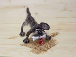 Как сделать дворового пса Шарика на каркасе. Ярмарка Мастеров - ручная работа, handmade.