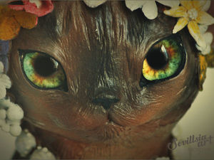 Бурманская кошечка Надя. Ярмарка Мастеров - ручная работа, handmade.