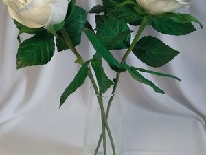 Новинка - букет белых роз!. Ярмарка Мастеров - ручная работа, handmade.