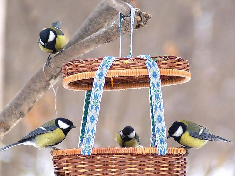 Кормушки для птиц: красота и польза! - Ярмарка Мастеров - ручная работа, handmade