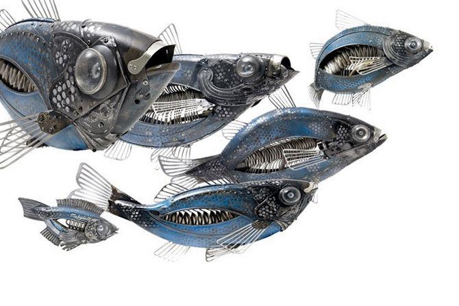 Животные из металла французского скульптора Edouard Martinet, фото № 2