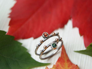 Осенние кольца!. Ярмарка Мастеров - ручная работа, handmade.