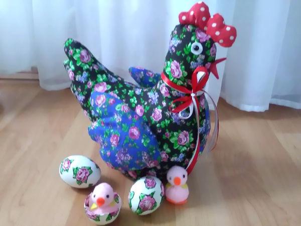 курочка, курица, игрушка, ручная работа, handmade, текстиль