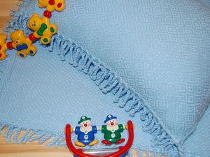Новинка! Плед и наволочка для малыша. Ярмарка Мастеров - ручная работа, handmade.