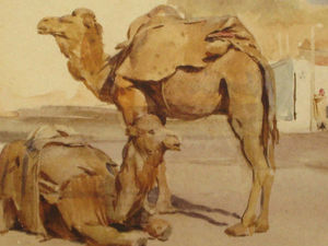 Египет в волшебных акварелях Walter Tyndale. Ярмарка Мастеров - ручная работа, handmade.