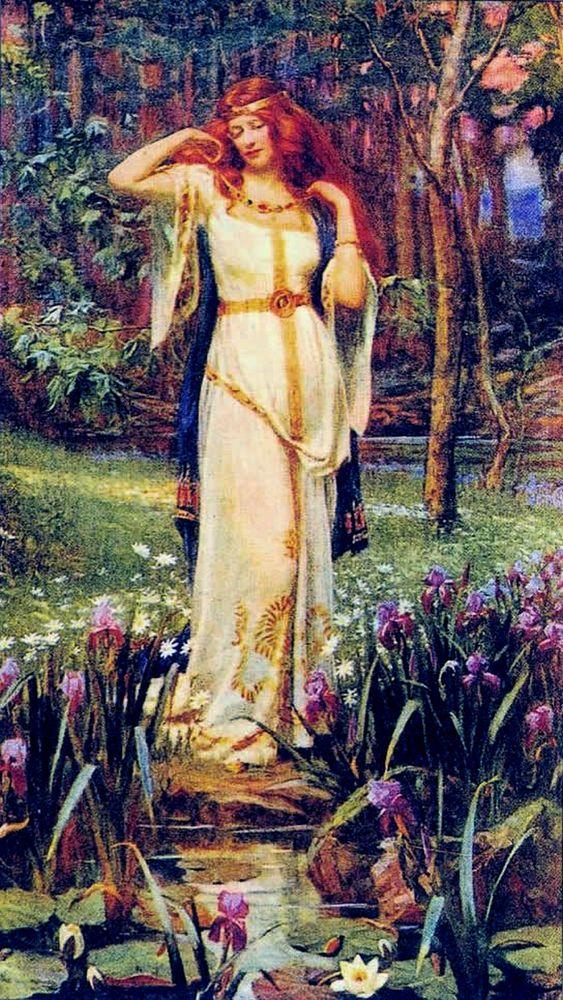 фрейя богиня любви картинки несколько