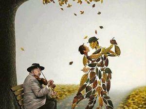 Осень...вдохновение..... Ярмарка Мастеров - ручная работа, handmade.
