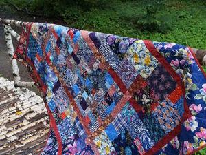 О лоскутных одеялах.. Ярмарка Мастеров - ручная работа, handmade.