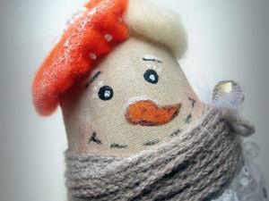 Снеговушка №1 ). Ярмарка Мастеров - ручная работа, handmade.