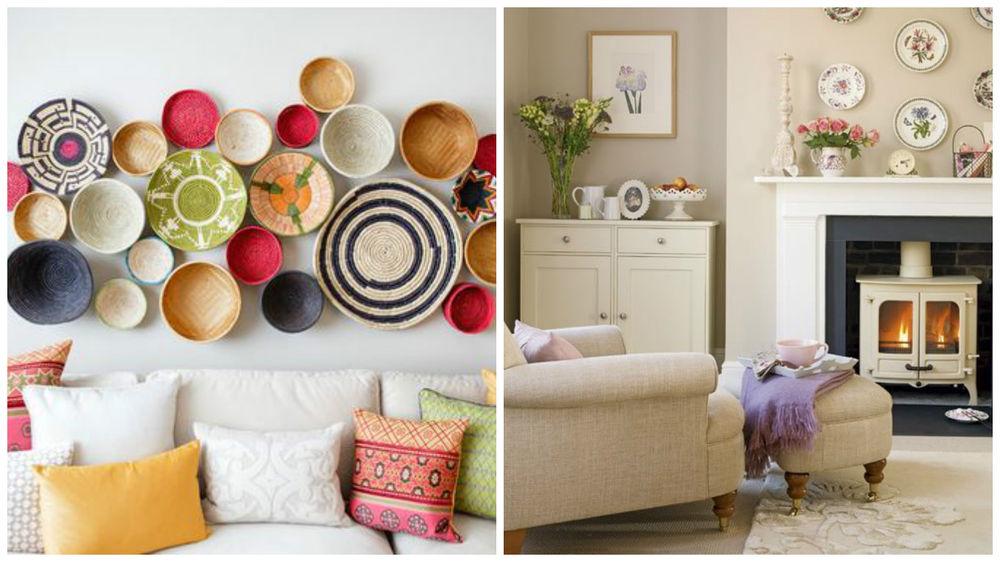 декоративные элементы, для дома, коллекция тарелок