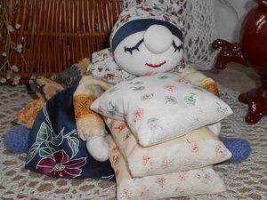 Вечер, Груня приморилась. Кукла в русском стиле. Ярмарка Мастеров - ручная работа, handmade.