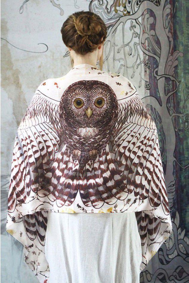 Когда вырастают крылья: завораживающие палантины Розы Хамитовой, фото № 8