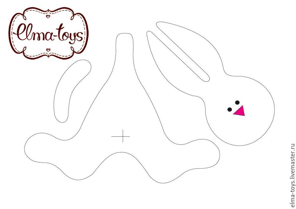 как сшить зайца, заяц игрушка мастер-класс, как сшить игрушку, как сшить кролика, кролик своими руками, зайка из ткани, новый год игрушка, игрушка на ёлку, пасха, кролик