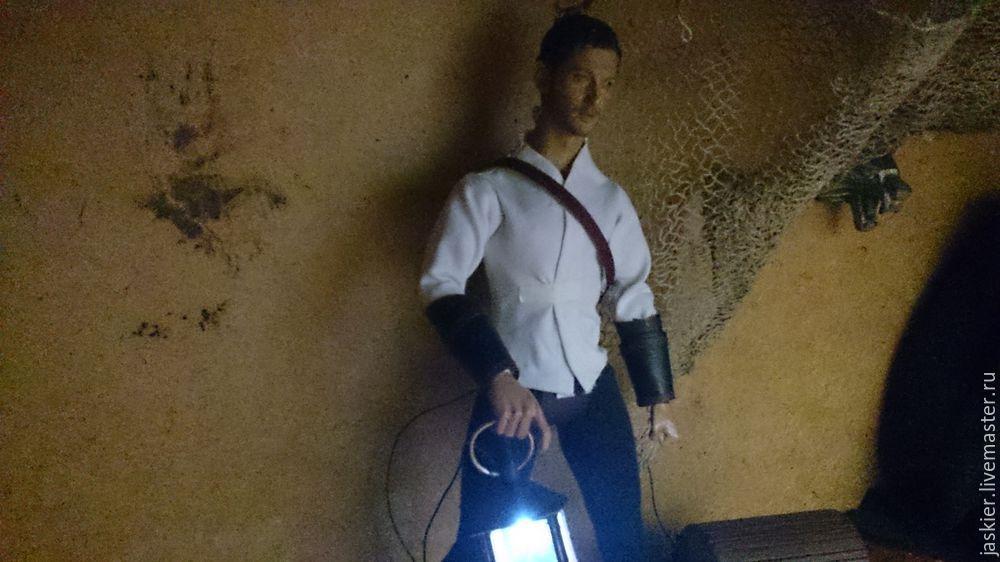 Мастерим для кукольного домика светящийся фонарь в миниатюре, фото № 14