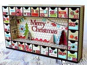 Новогодний адвент-календарь украшений! Праздничная игра. Ярмарка Мастеров - ручная работа, handmade.