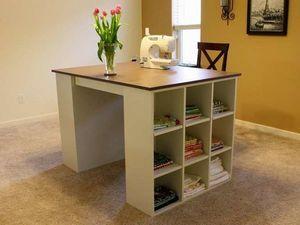 Оригинальные идеи создания швейного стола. Ярмарка Мастеров - ручная работа, handmade.